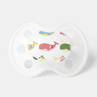 Friendly Whales Pacifier