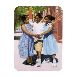 Friends 2001 rectangular photo magnet