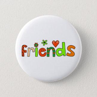 friends 2 inch round button
