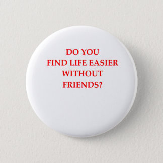 FRIENDS 2 INCH ROUND BUTTON