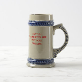 FRIENDS BEER STEIN