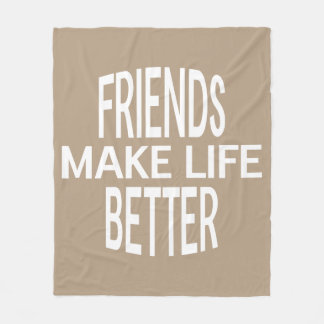 Friends Better Blanket - Assorted Sizes & Colors