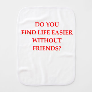 FRIENDS BURP CLOTH
