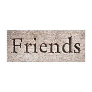 Friends canvas
