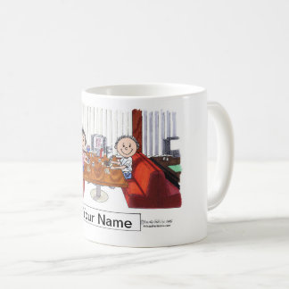 Friends, Couple - Personalized Cartoon, Friendly F Coffee Mug
