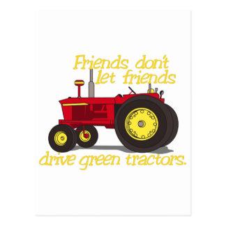 Friends Dont Postcard