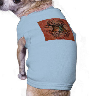Friends, dragon with fighter doggie tee
