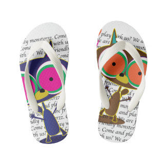 Friends flip-flops for tough children kid's flip flops
