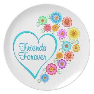 Friends Forever Plate