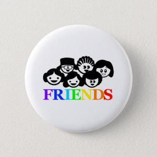 ''Friends'' Friendship Badge 2 Inch Round Button