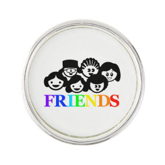 """Friends"" Friendship, Lapel Pin. Lapel Pin"