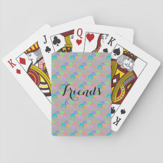 """Friends"" Friendship, Playing Cards. Playing Cards"