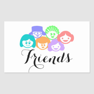 """Friends"" Friendship, Pretty Stickers"