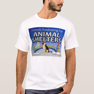 Friends Fundraising for Animal Shelters T-Shirt