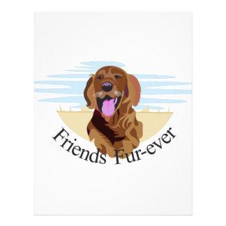 Friends Fur-Ever Letterhead