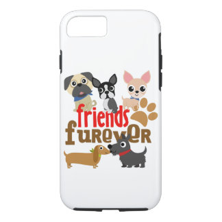 Friends Furever Dogs Puppies iPhone 8/7 Case