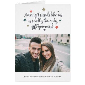 Friends Like Us | Holiday Card