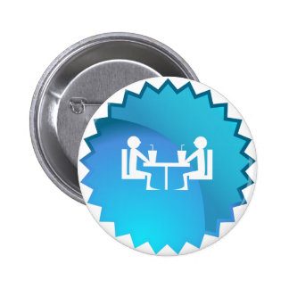 Friends Meeting For Lunch 2 Inch Round Button