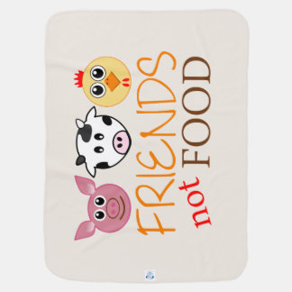 Friends, Not Food Baby Blanket