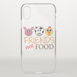 Friends Not Food iPhone X Case