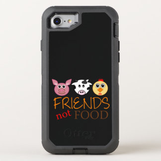 Friends Not Food OtterBox Defender iPhone 8/7 Case
