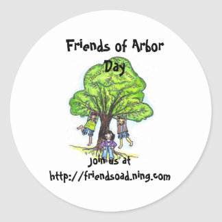 Friends of Arbor Day sticker