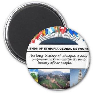 friends of ethiopia magnet