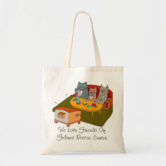 Friends of Felines  Tote Bag