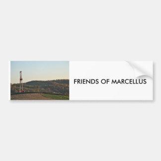 FRIENDS OF MARCELLUS BUMPER STICKER