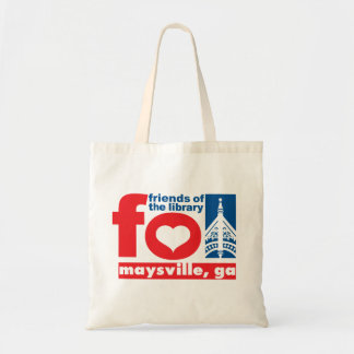 Friends of Maysville Public Library apron Tote Bag