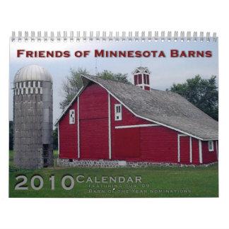 Friends of Minnesota Barns 2010 Calendar