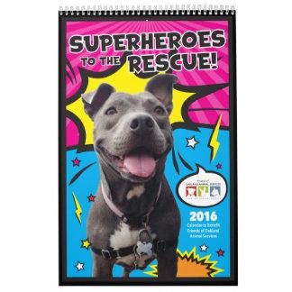 Friends of Oakland Animal Services 2016 calendar