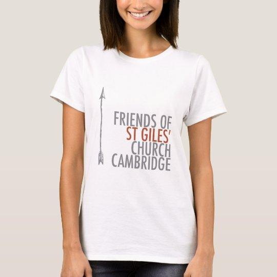 Friends of St Giles' Logo T-Shirt