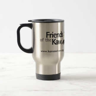Friends of the Kaw, www.kansasriver.org Travel Mug