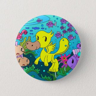 Friends of the lake 2 inch round button