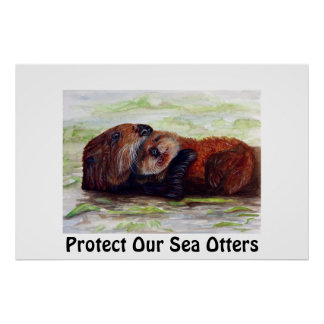 Friends of the Sea Otter Poster