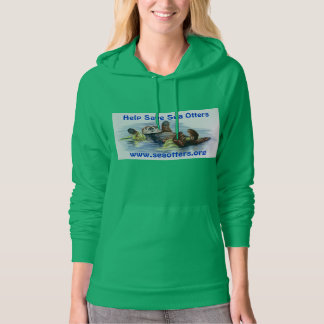 Friends of the Sea Otter Women's Sweatshirt
