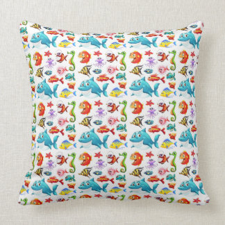 Friends Of The Sea Throw Pillow