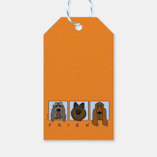 Friends: Spinone Italiano, Tervueren, Bloodhound Gift Tags