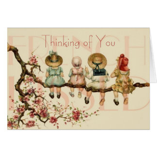 Friends Thinking of You Note Card