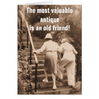 Friends till the end card