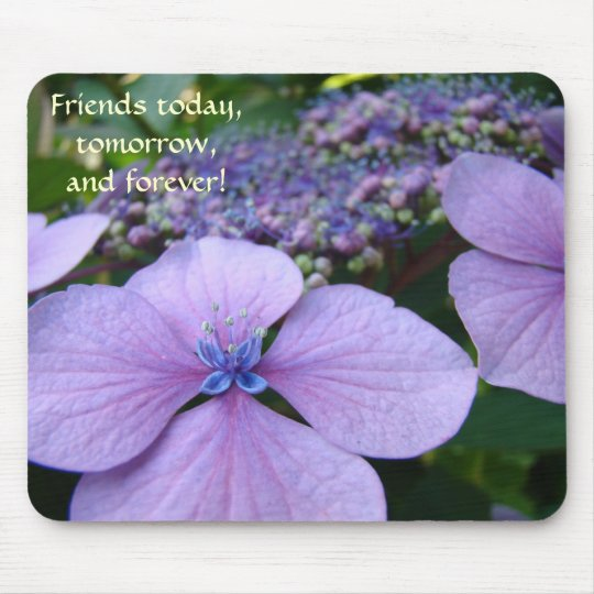 FRIENDS Today Tomorrow Forever Mousepad Gifts