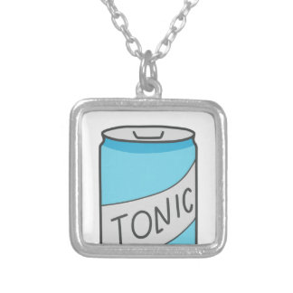 friends tonic silver plated necklace
