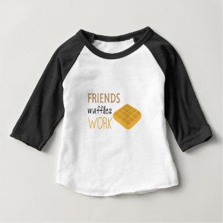 Friends Waffles Work Baby T-Shirt