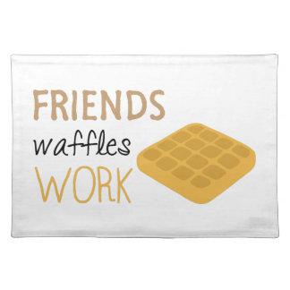 Friends Waffles Work Placemat