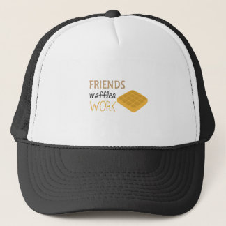 Friends Waffles Work Trucker Hat