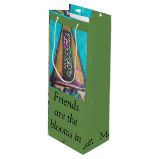 Friends Wine Bag