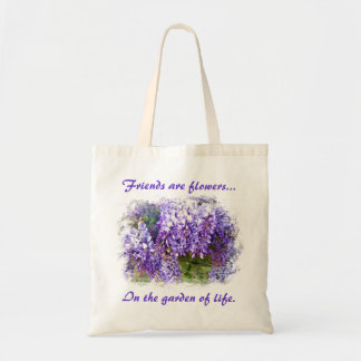 Friends Wisteria Tote Bag