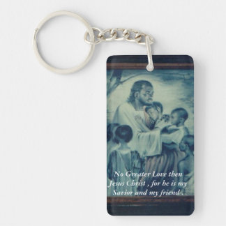 Friends with Jesus Keychain