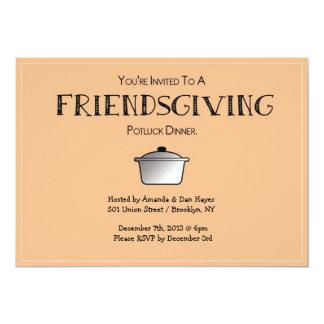 FRIENDSGIVING Invitation!  - Customizable! Card